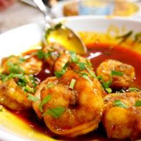 Spanish Cuisine With Laura: Garlic Scampi