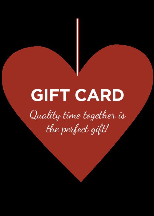Valentine's gift card