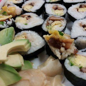 """Japanese Cuisine """"Sushi Roll Futo Maki"""" With Ayako"""