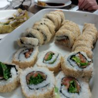 "Japanese Cuisine ""Sushi Roll Inside Out Ura Maki"" With Ayako"