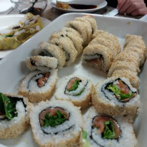 """Japanese Cuisine """"Sushi Roll Inside Out Ura Maki"""" With Ayako"""