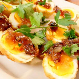 Thai Street Food With Bammut: Kai Loog Keui (Son In Law Eggs)