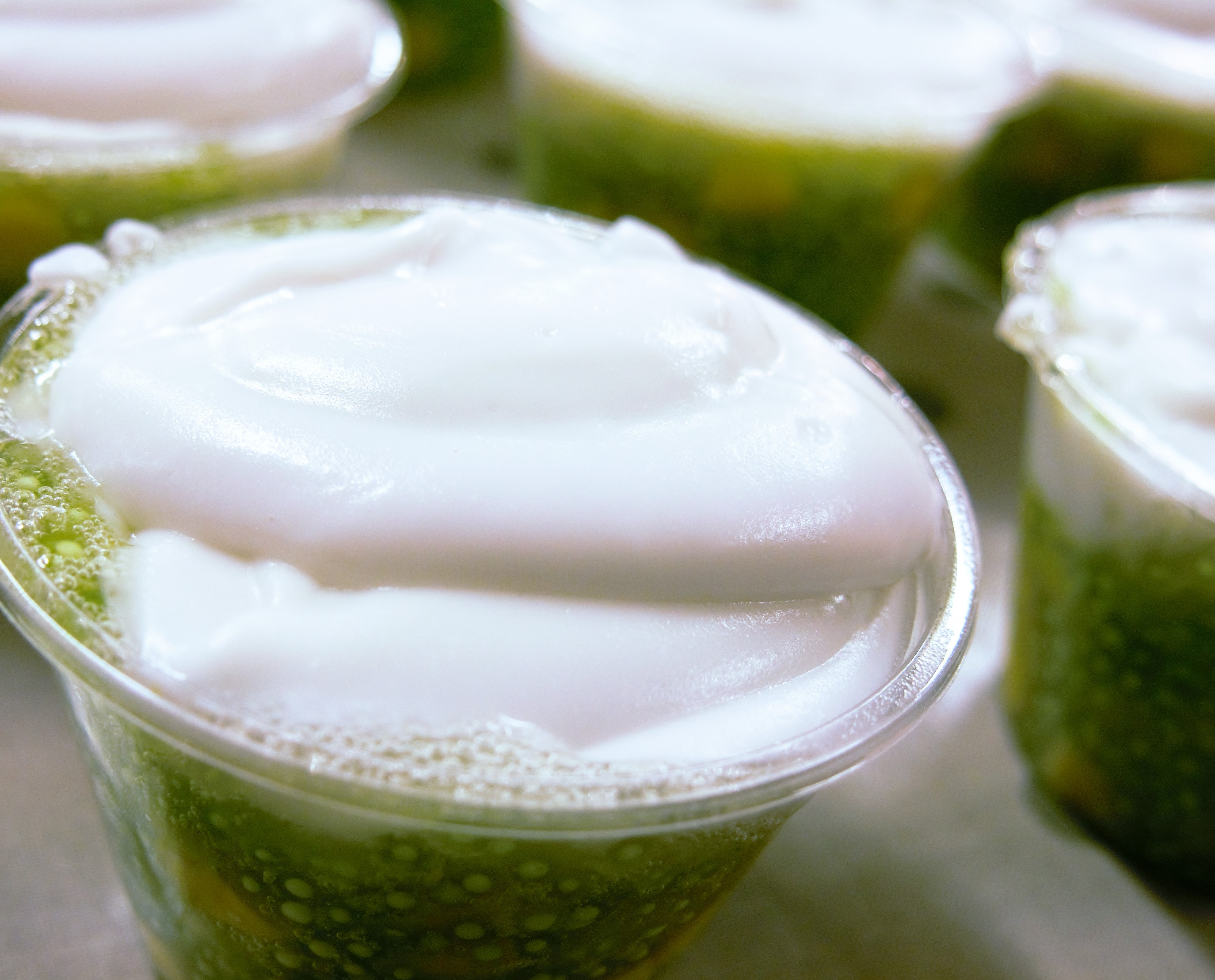 Thai Street Food With Bammut: Tapioca Pudding With Coconut Cream