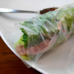 Vietnamese Cuisine With Chi-Chi: Fresh Spring Rolls