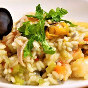 Italian Cuisine With Maria: Risotto Ai Frutti Di Mare
