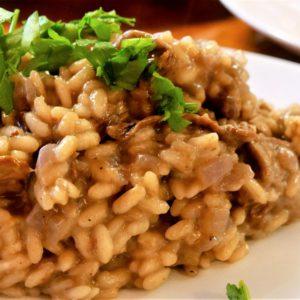 Italian Cuisine With Maria: Risotto Ai Funghi Secchi