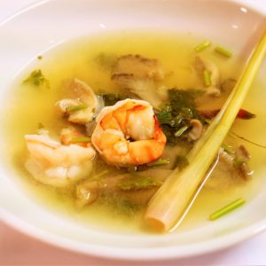 Thai Cuisine With Bammut: Tom Yum Goong Soup