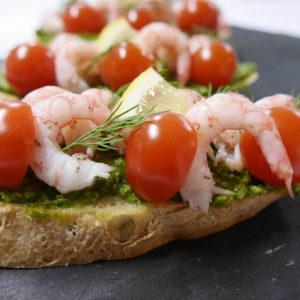 The Taste of Norway Shrimp Sandwich