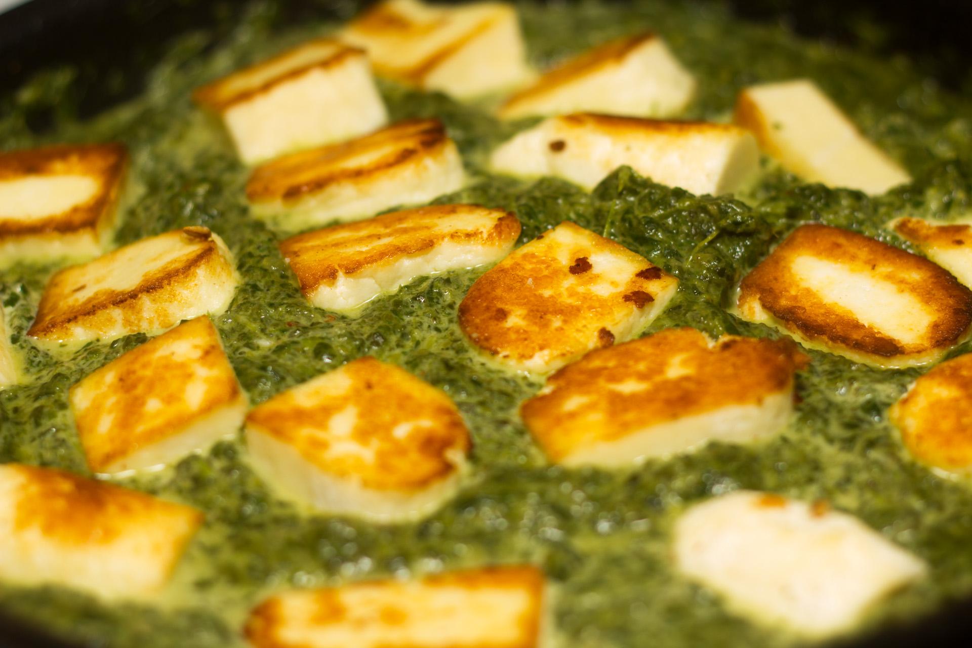 Indian Cuisine With Joyita: Palak Paneer