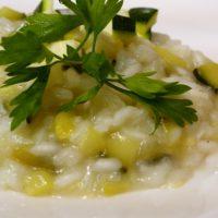 Italian Cuisine With Marialaura: Risotto Con Zucchini