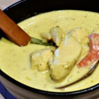 Thai Cuisine With Bammut: Thai Green Curry With Chicken
