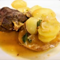 Ensopado De Borrego (Lamb Stew)