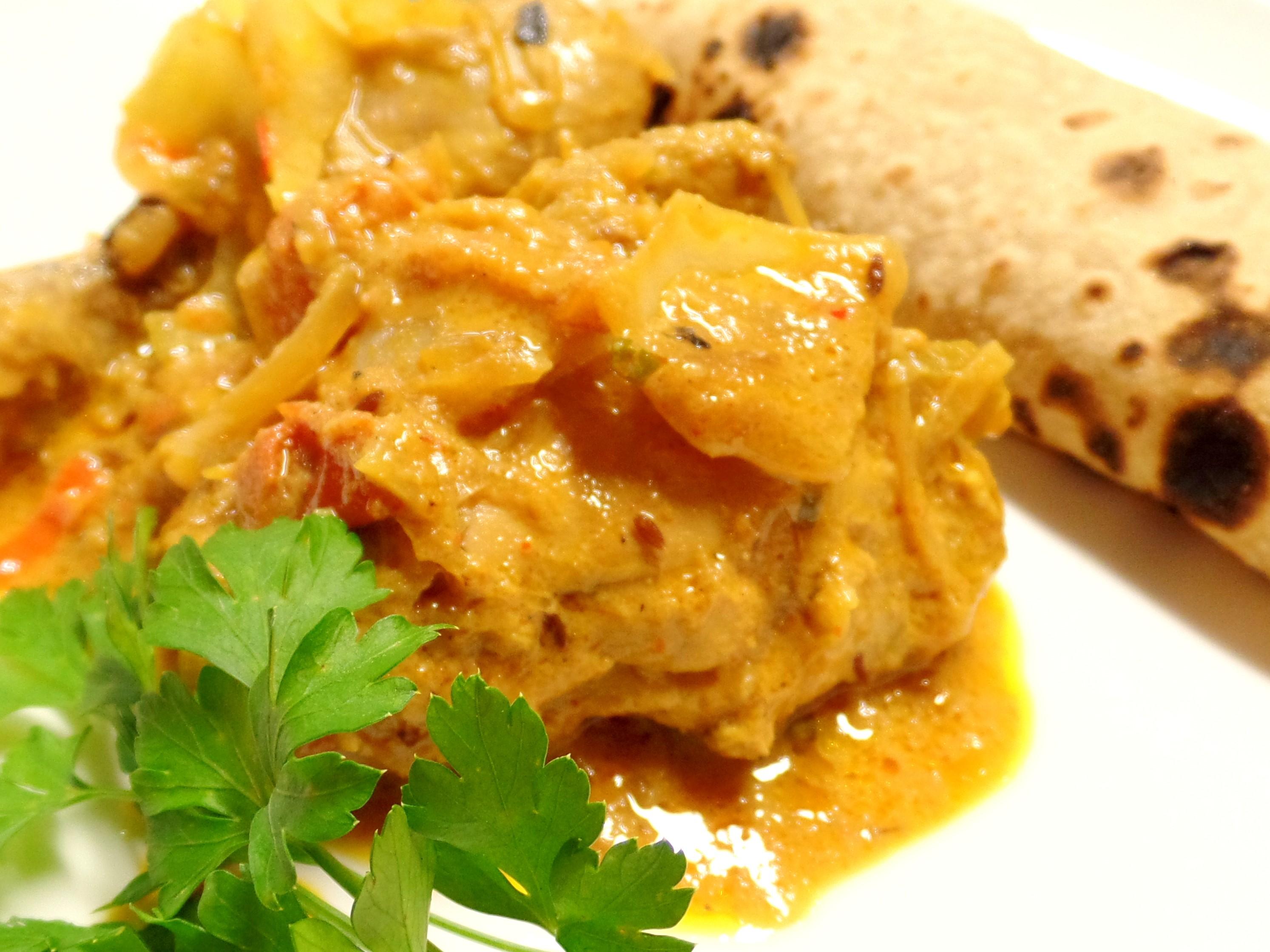 Indian Chicken Do Pyaja