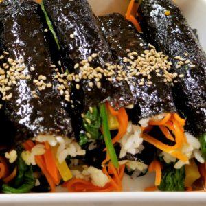 Korean Cuisine With Jisu – Mayak Kimbap