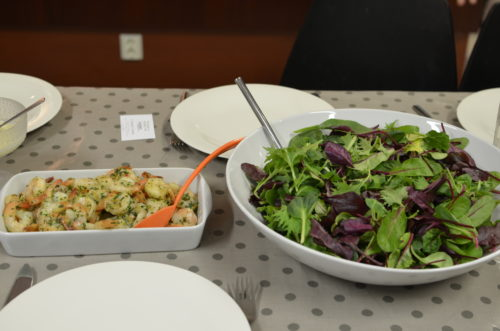 Korean With Jisu – Scampi Salad And Oriental Dressing 2 Ways