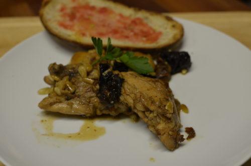 Spanish Cuisine With Laura: Pollo A La Catalana