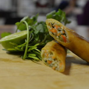 Thai Cuisine With Bammut: Thai Spring Rolls