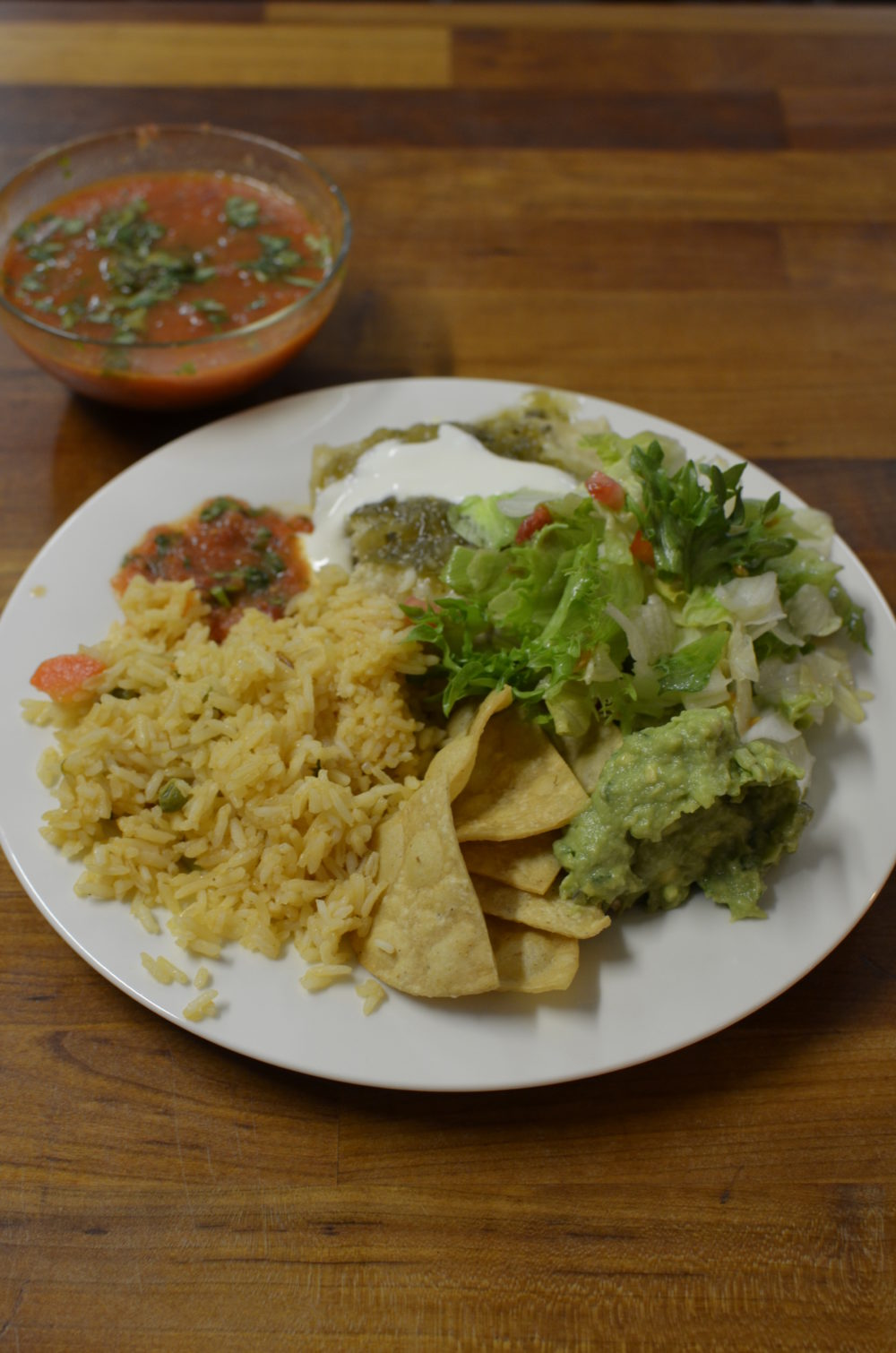 Mexican With Claudia – Chicken Enchiladas In Green Sauce