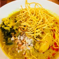Thai With Bammut – Khao Soi Gai Curry Northern Thai Dish