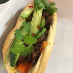 Vietnamese Cuisine With Tram – Banh Mi Thit Vietnamese Baguette With Pork