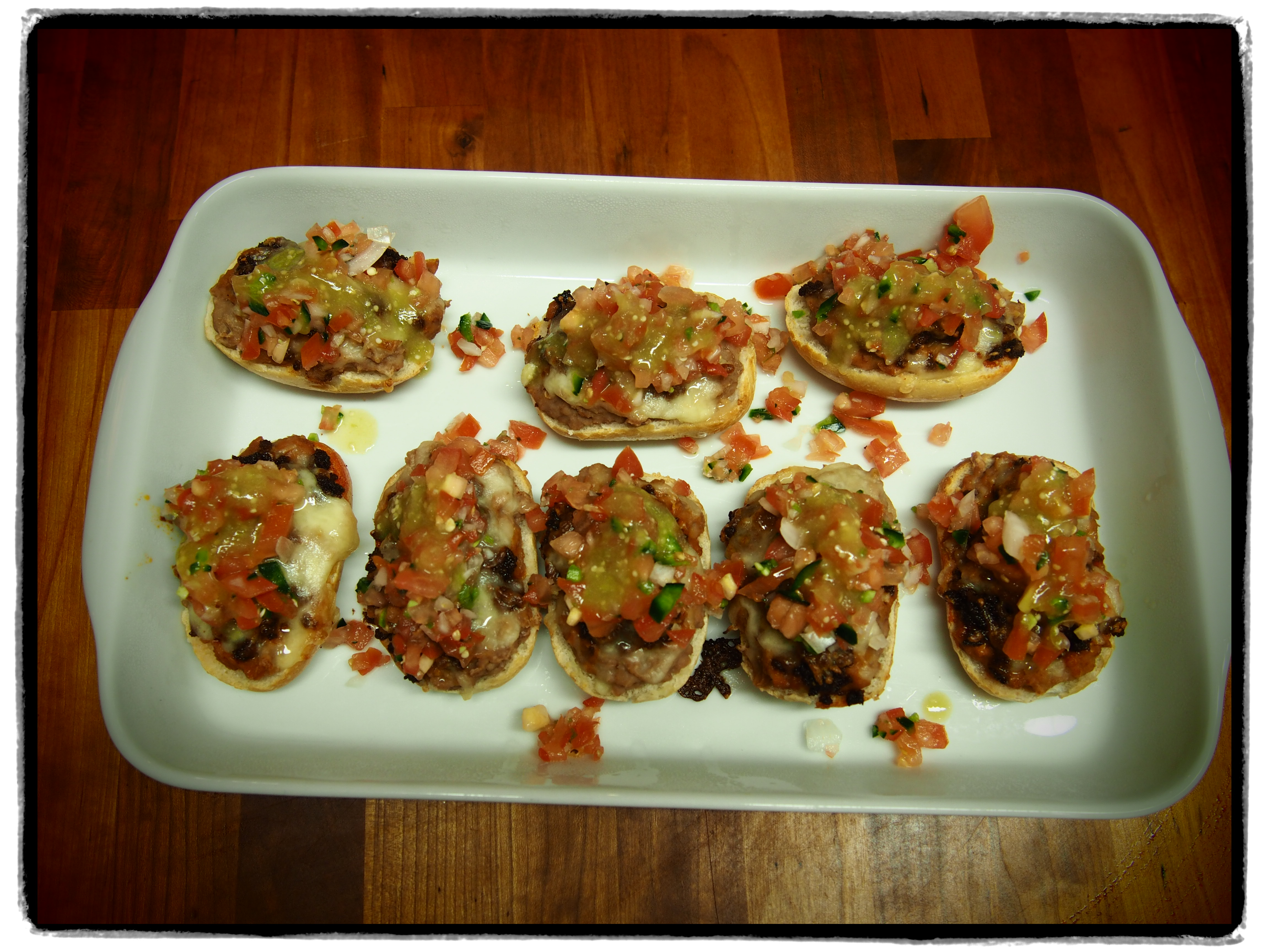Mexican Appetizers With Patricia – Molletes With Chorizo
