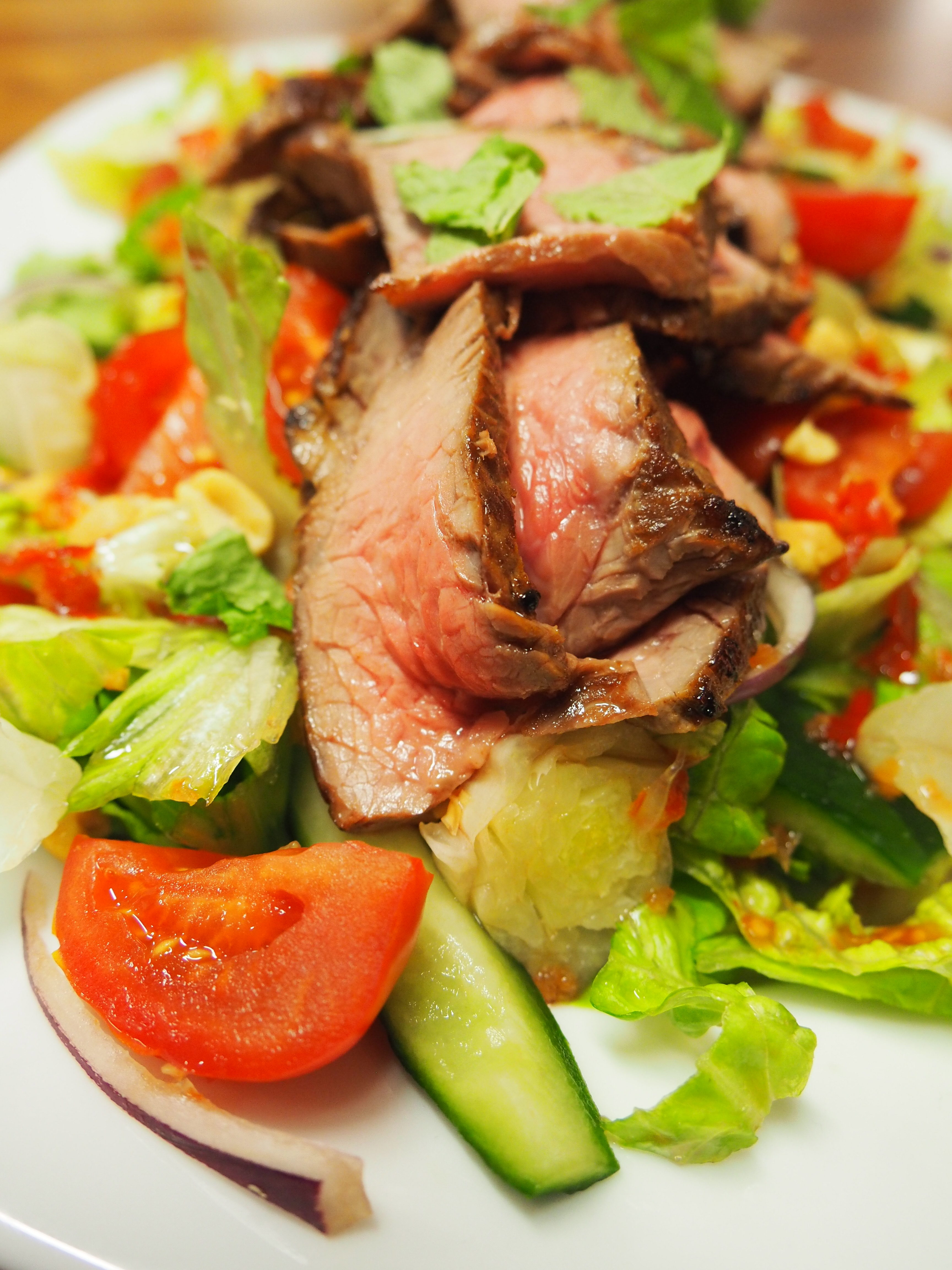 Thai With Bammut – Spicy Beef Salad