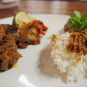 Thai With Bammut – Chicken Satay With Peanut Sauce