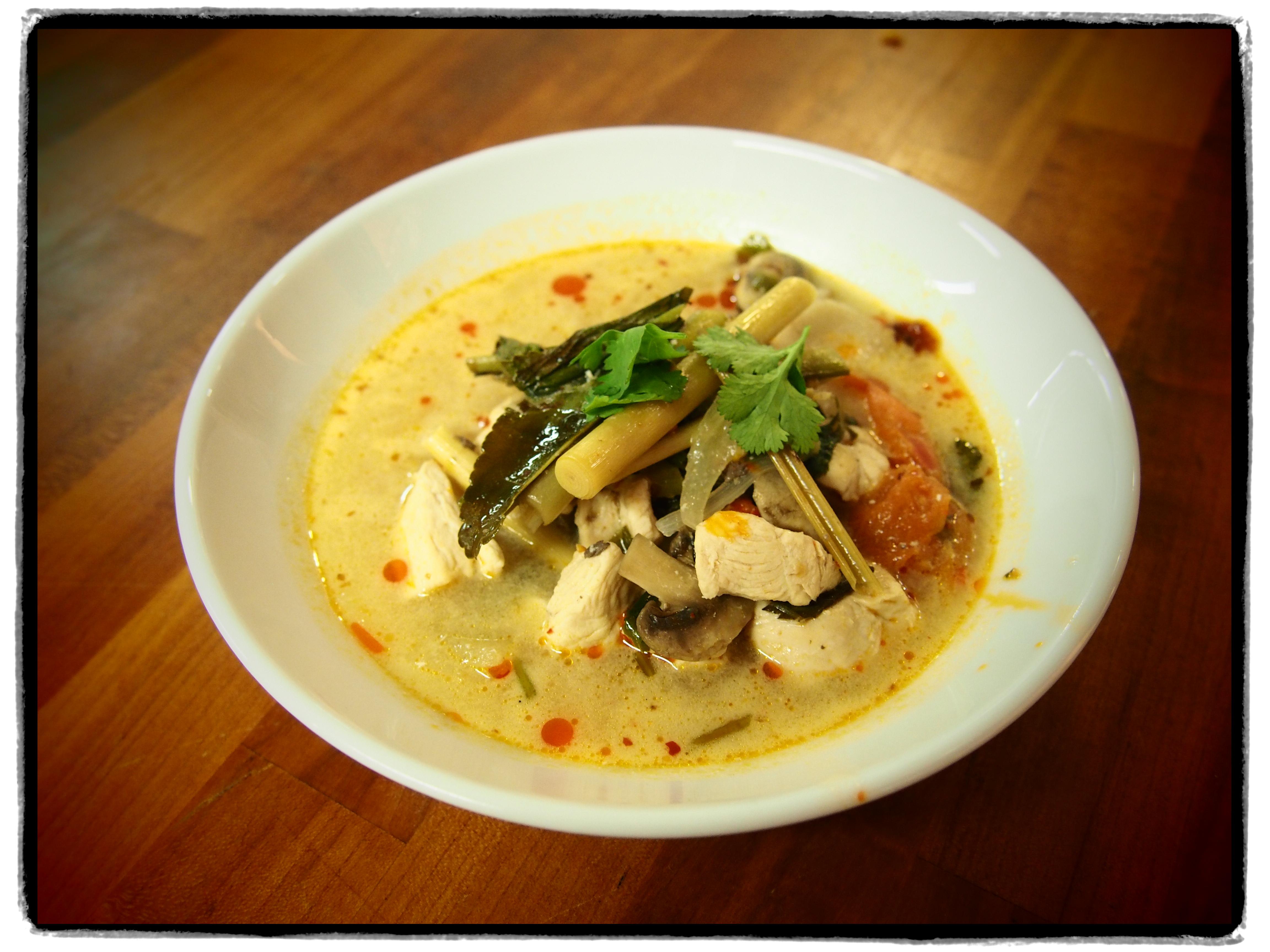 Thai With Kittikyana – Thai Chicken Soup – Tom Yum Kai