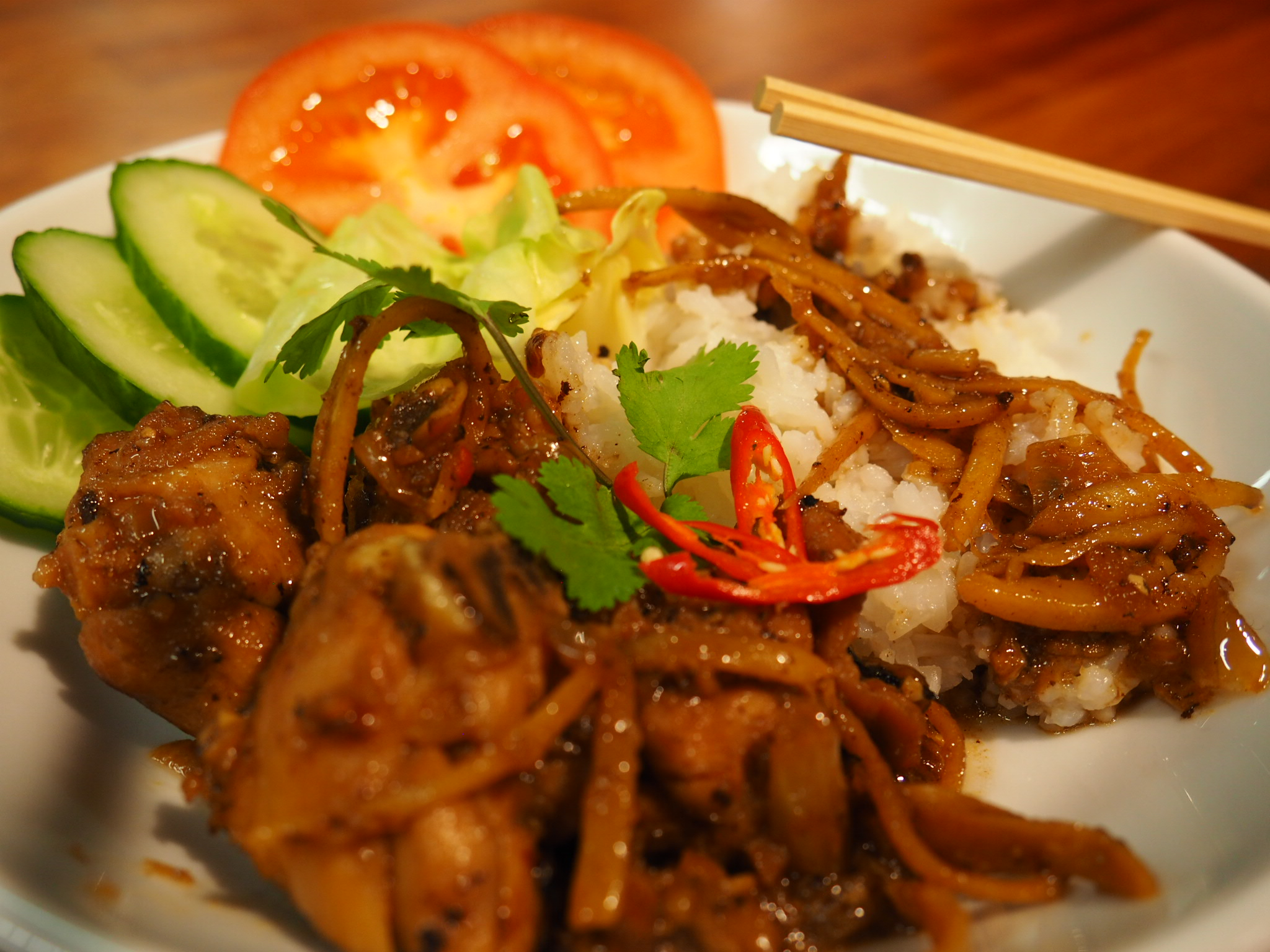 Vietnamese With Tomy – Chicken With Ginger And Lemon Grass