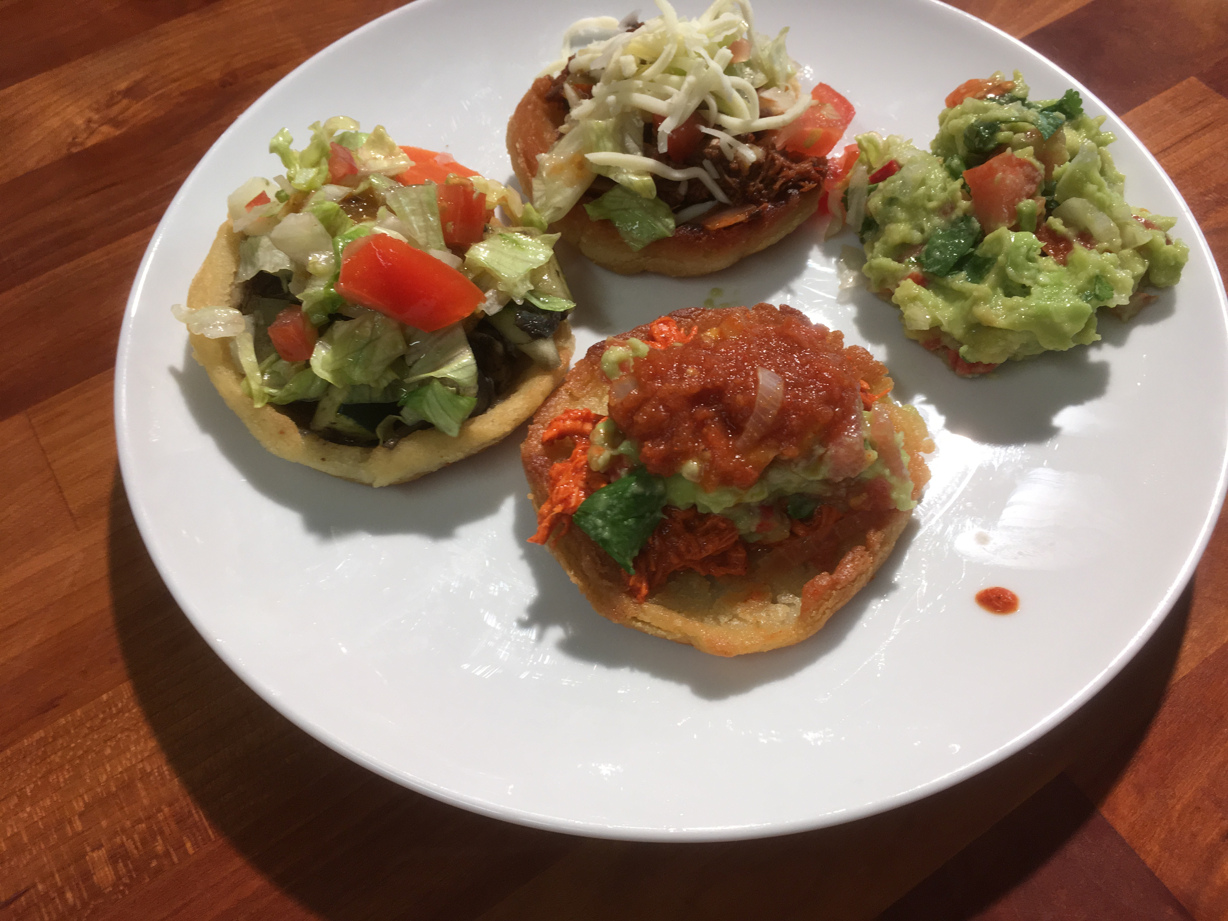 Mexican With Claudia – Sopes