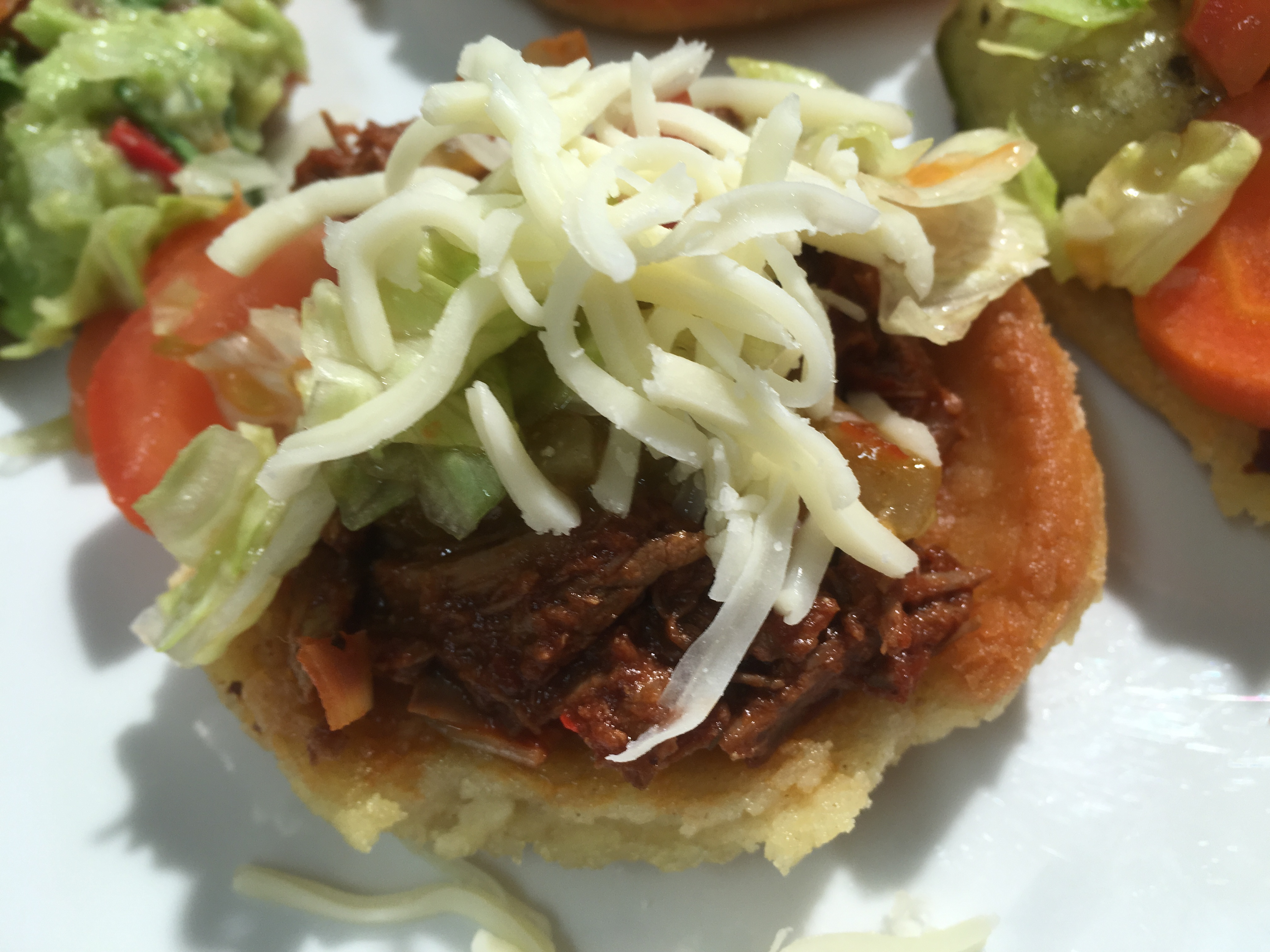 Mexican With Claudia – Shredded Beef Sopes Filling
