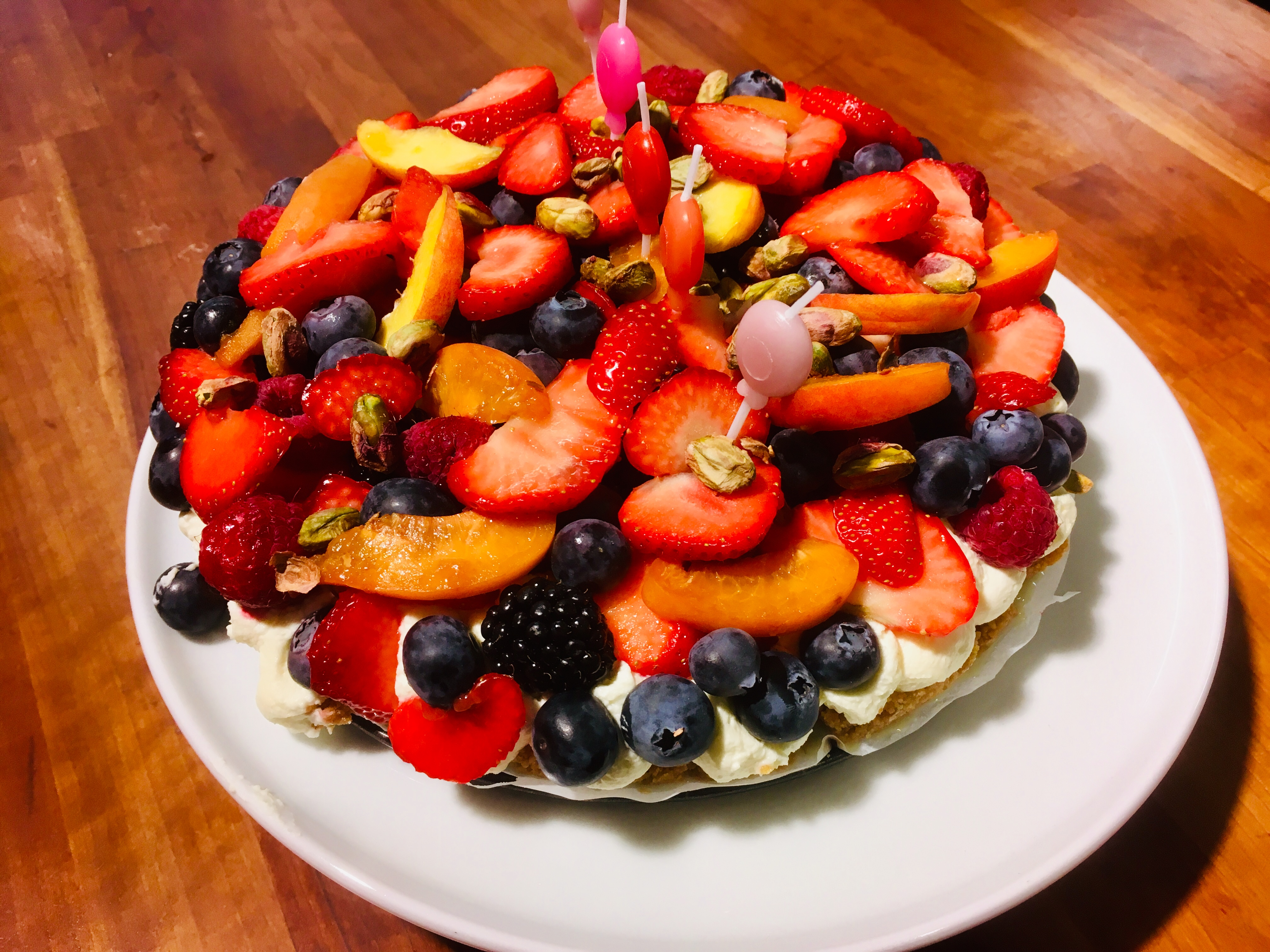 CROSTATA With Summer Fruits