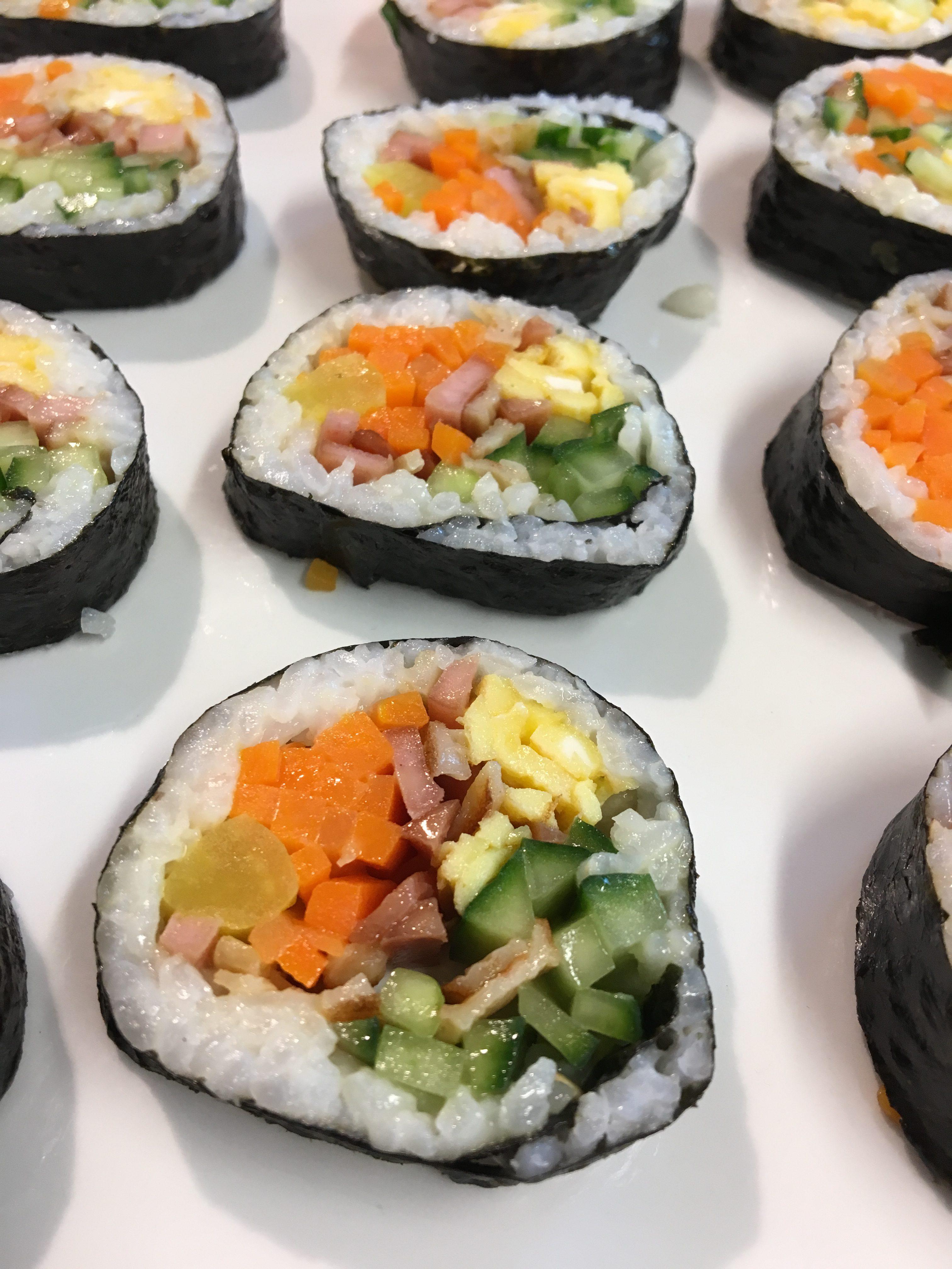 Korean With Jieun – Basic Kimbap