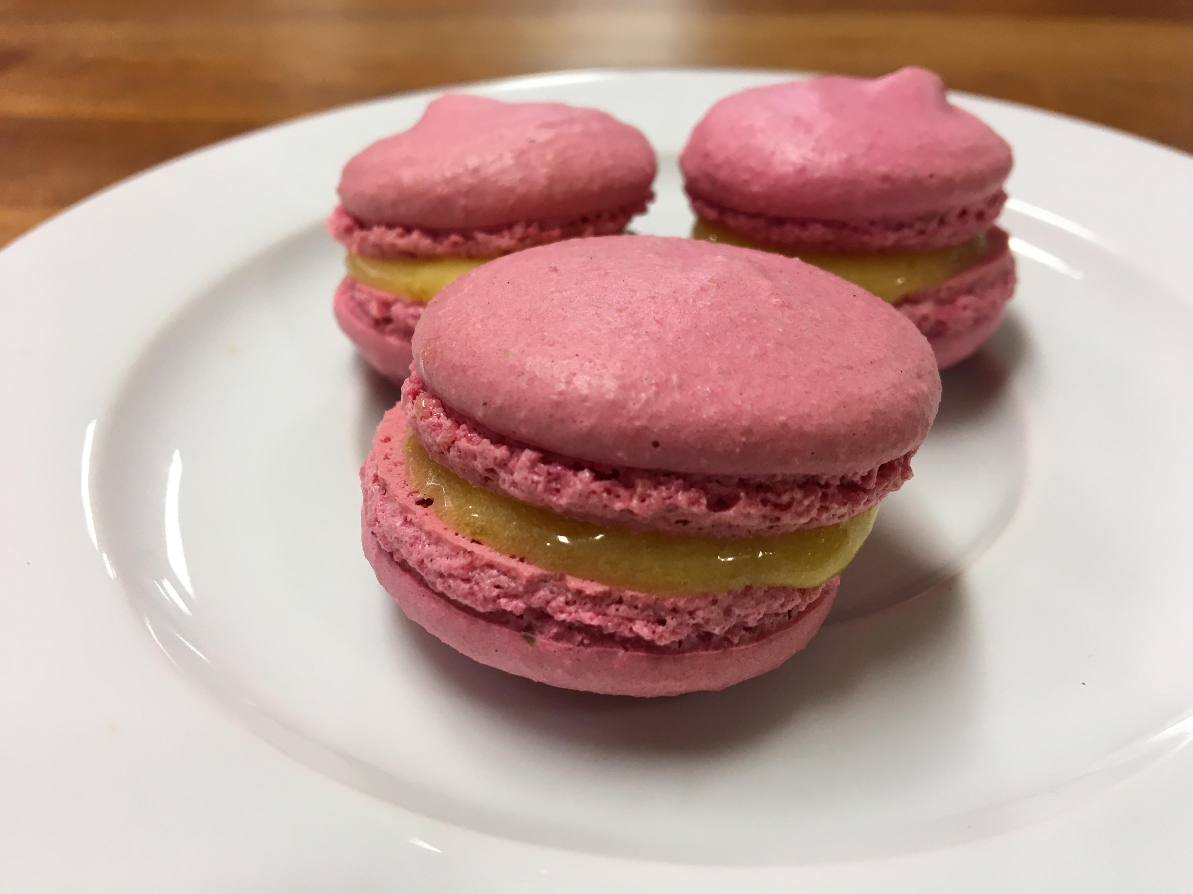 French Macaron With Jolanta – Lemon Curd