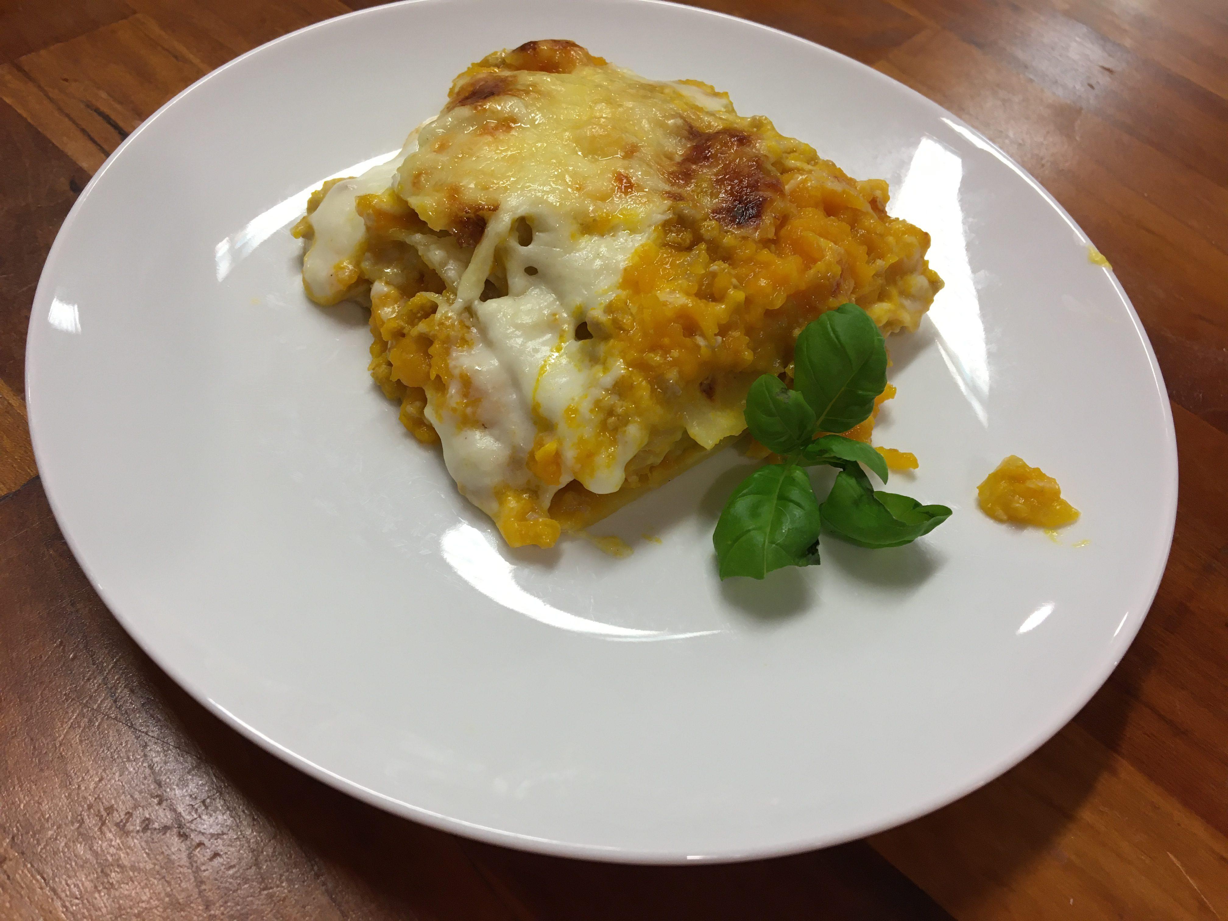 Italian Cuisine With Eliana – Pumpkins Lasagna