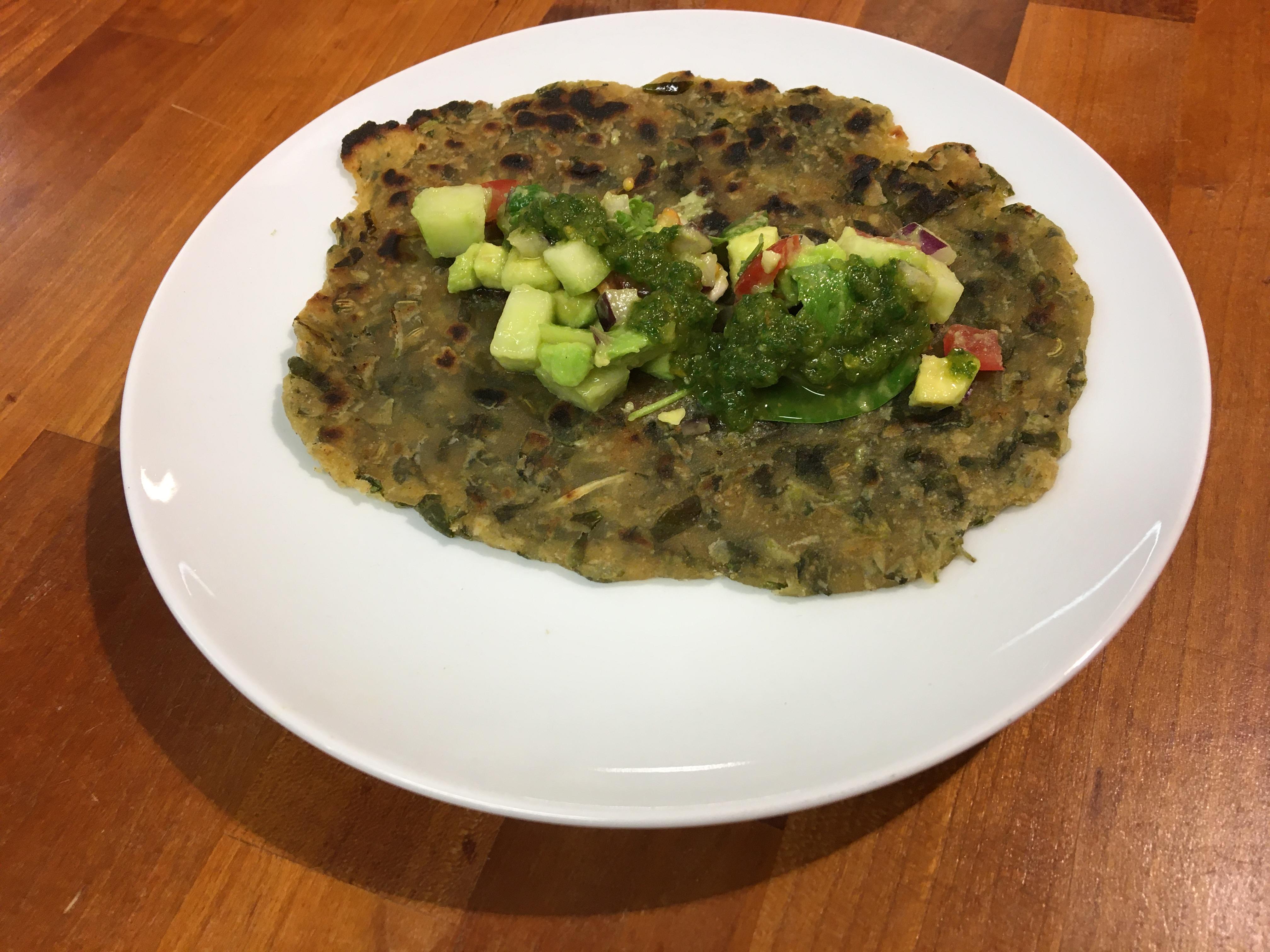 Indian Vegan Cuisine With Monika – METHI PARATHA