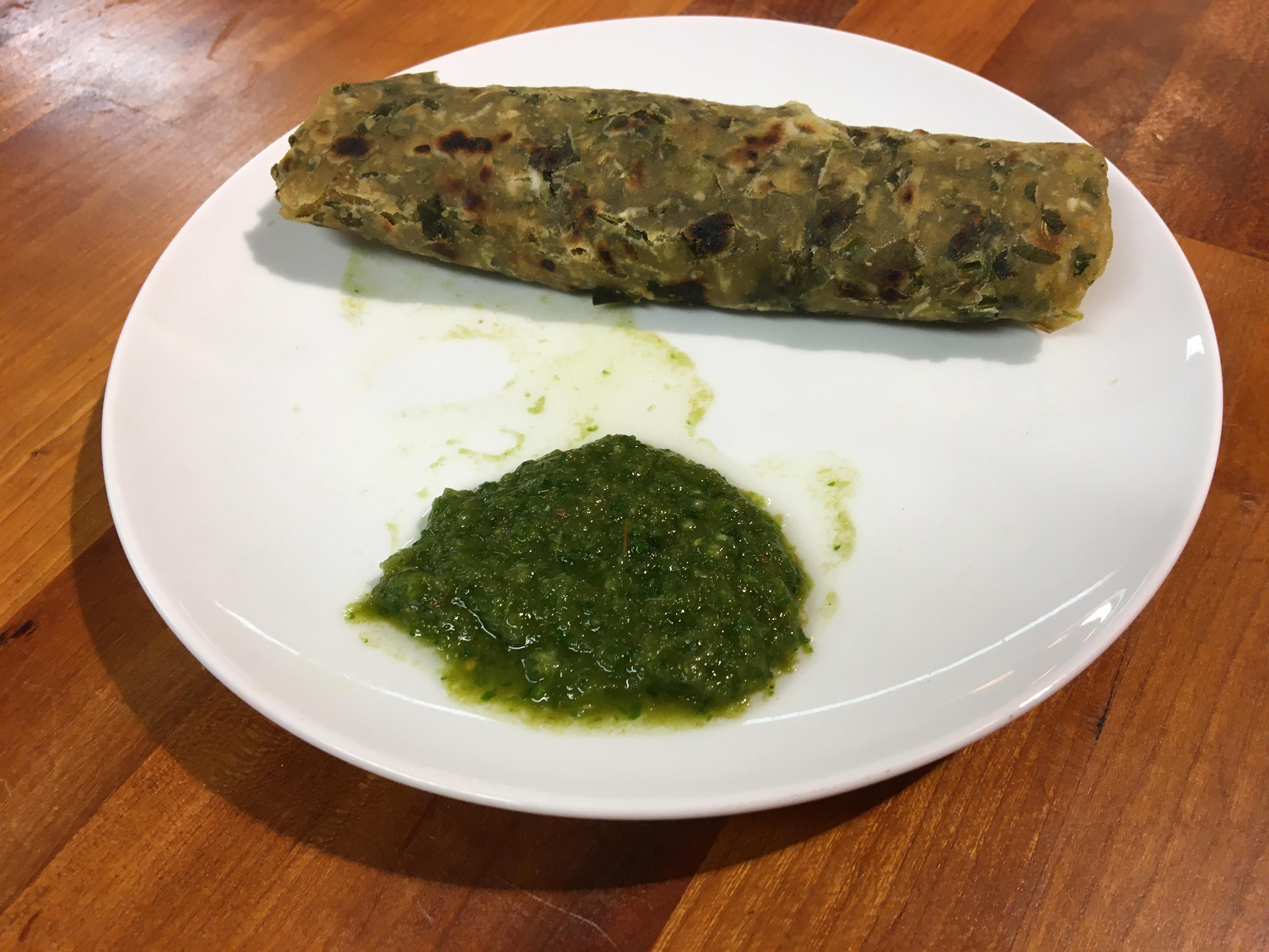Indian Vegan Cuisine With Monika – DHANIYA CHUTNEY