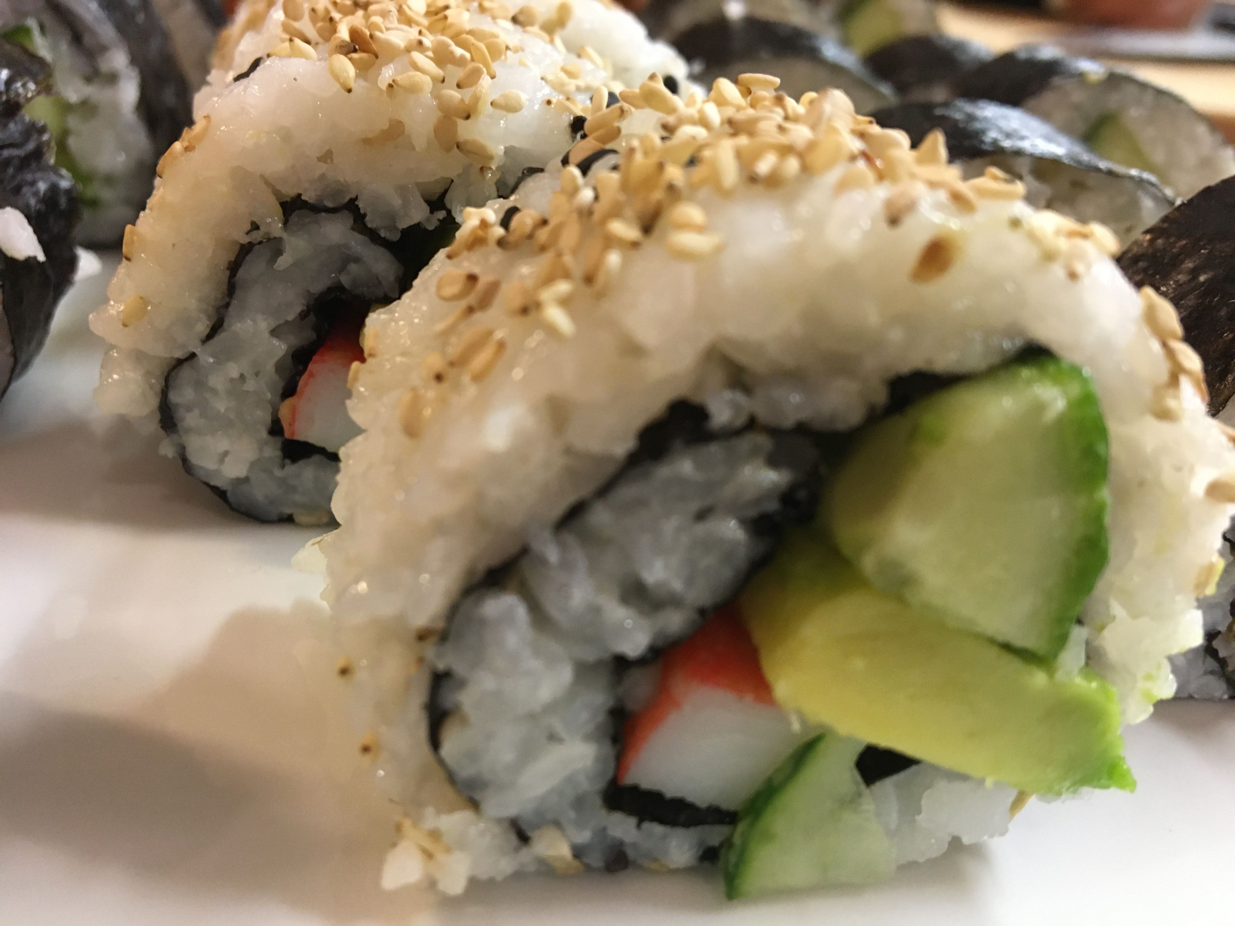 Sushi With Yuuko – California Roll