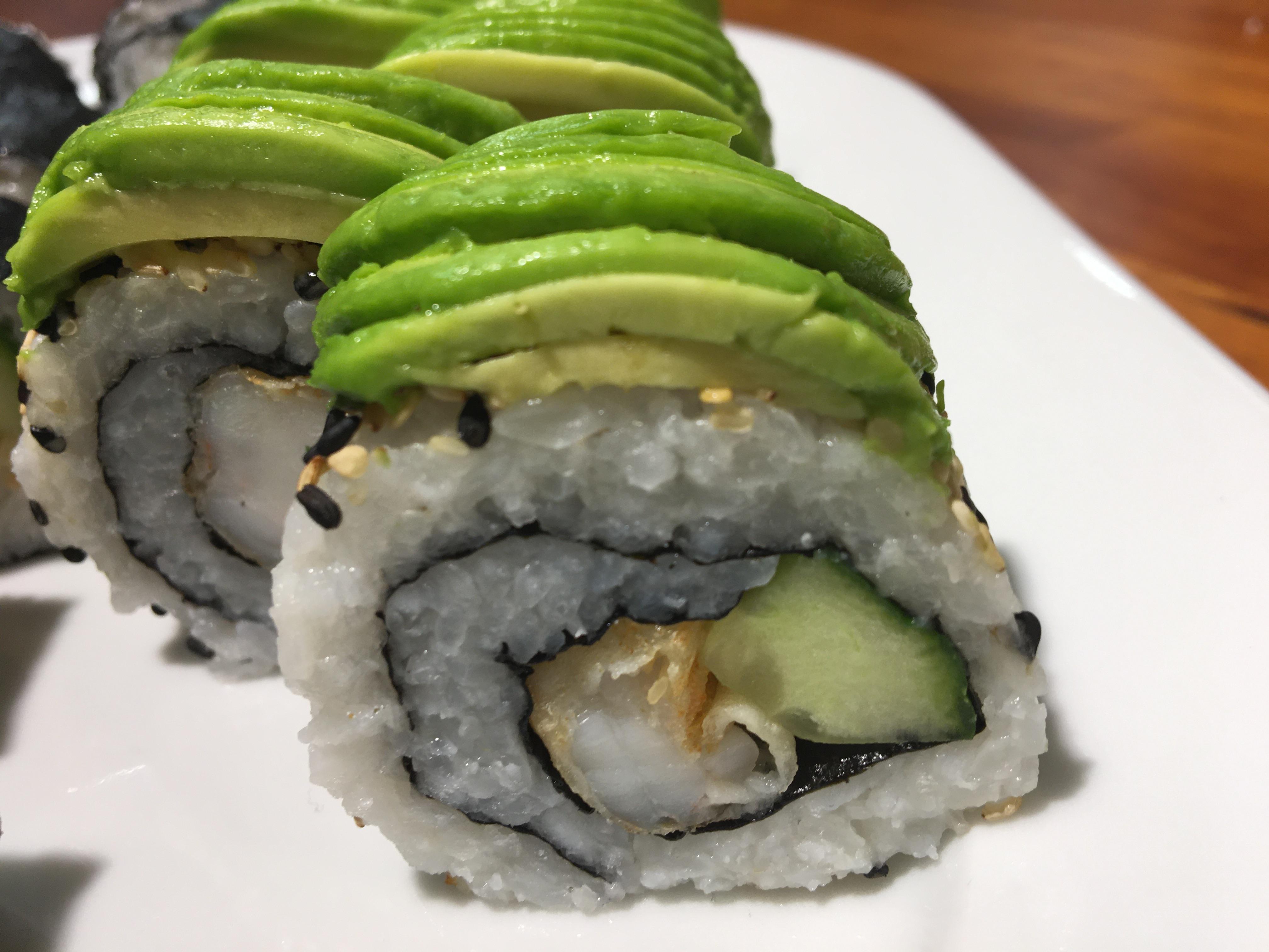 Sushi With  Yuuko – Caterpillar Roll