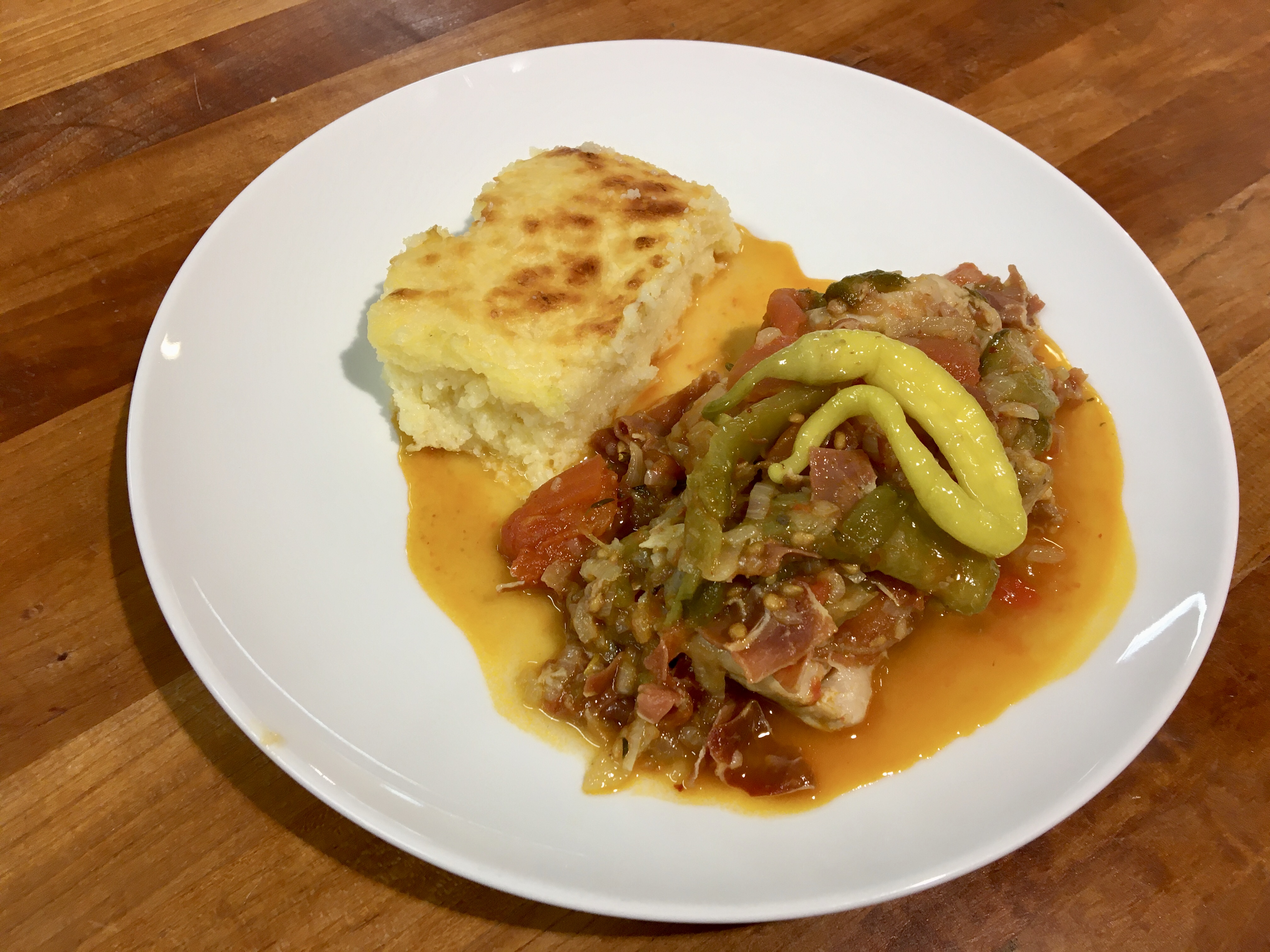 French Cuisine With Anne – Basquaise Chicken