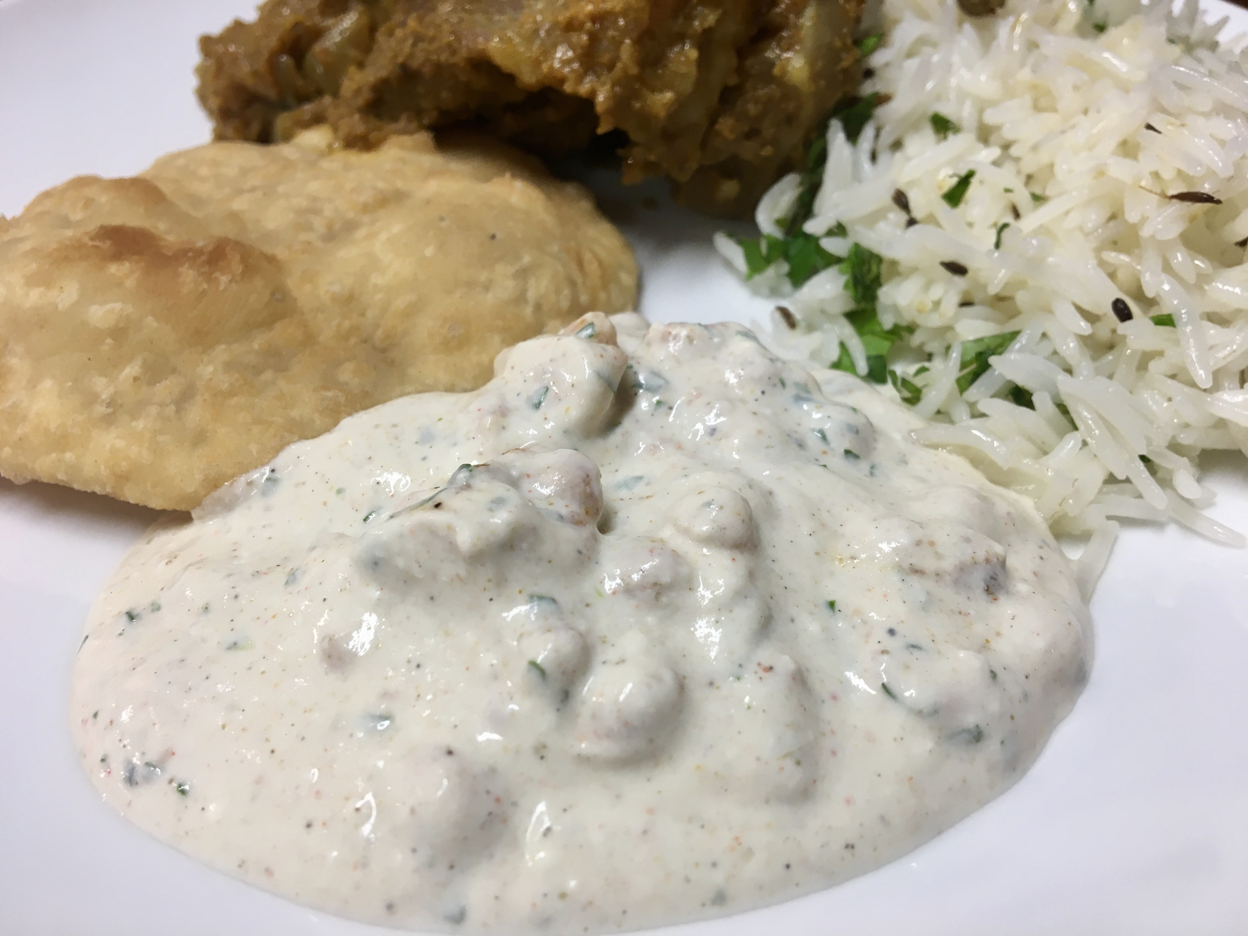 Indian Cuisine With Joyita – Raita With Masala Boondi
