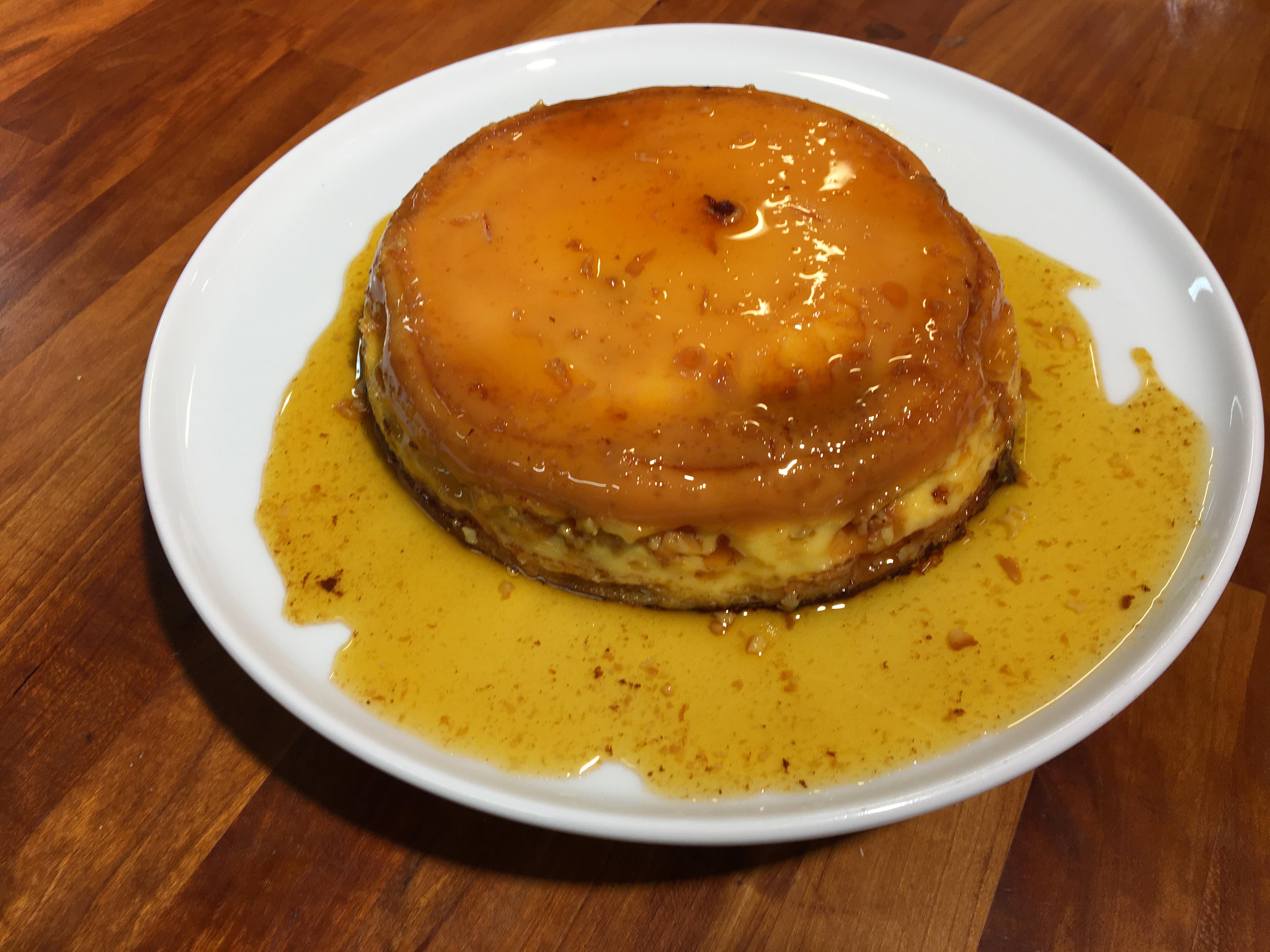 Venezuelan Cuisine With Adriana – Quesillo