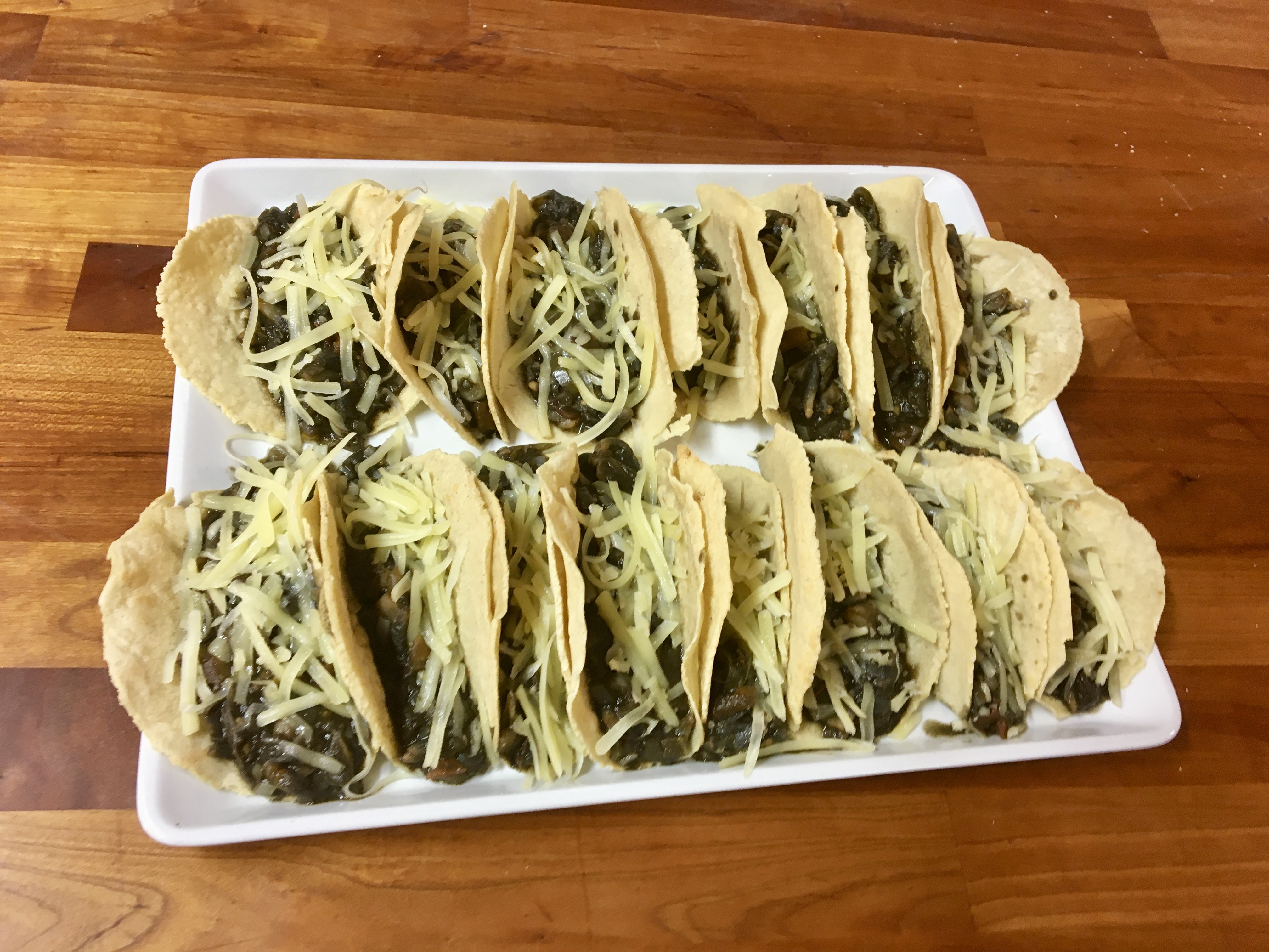Mexican With Patricia – Quesadillas With Huitlacoche