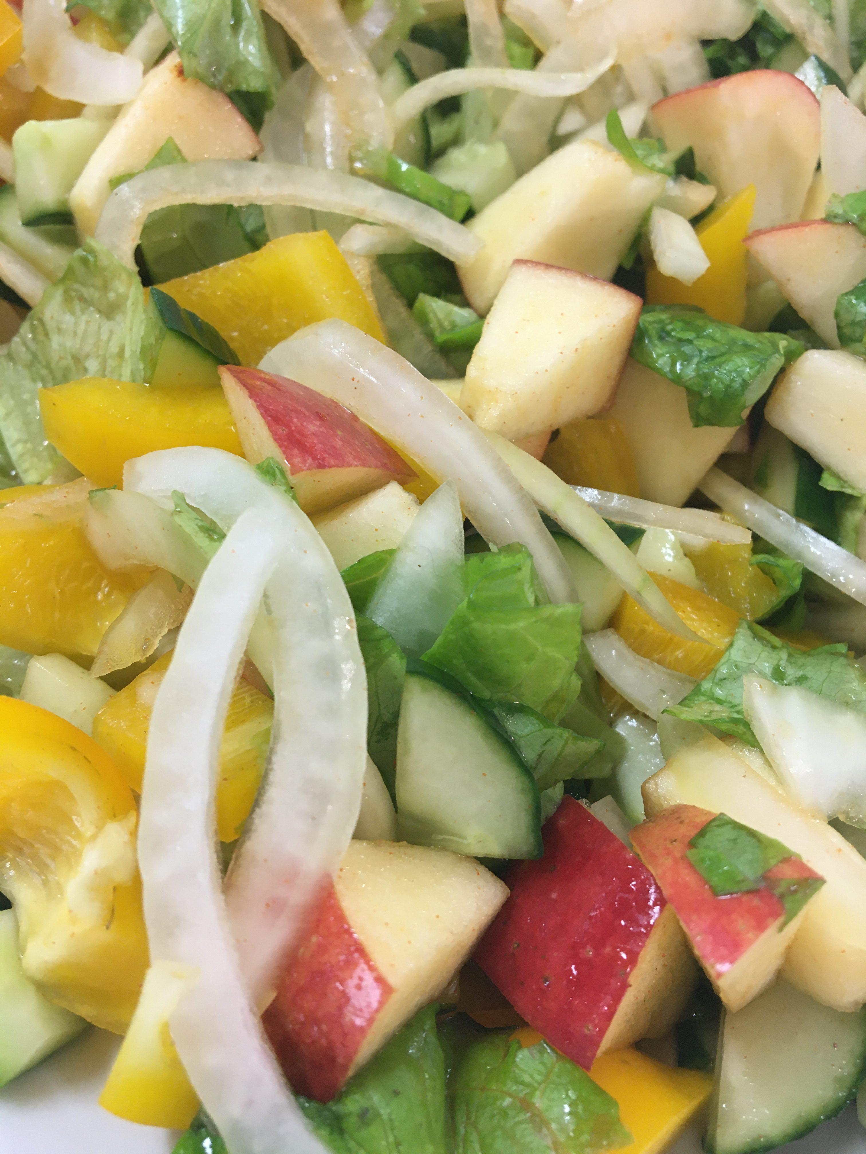 Korean Cuisine With Jieun – Korean Salad