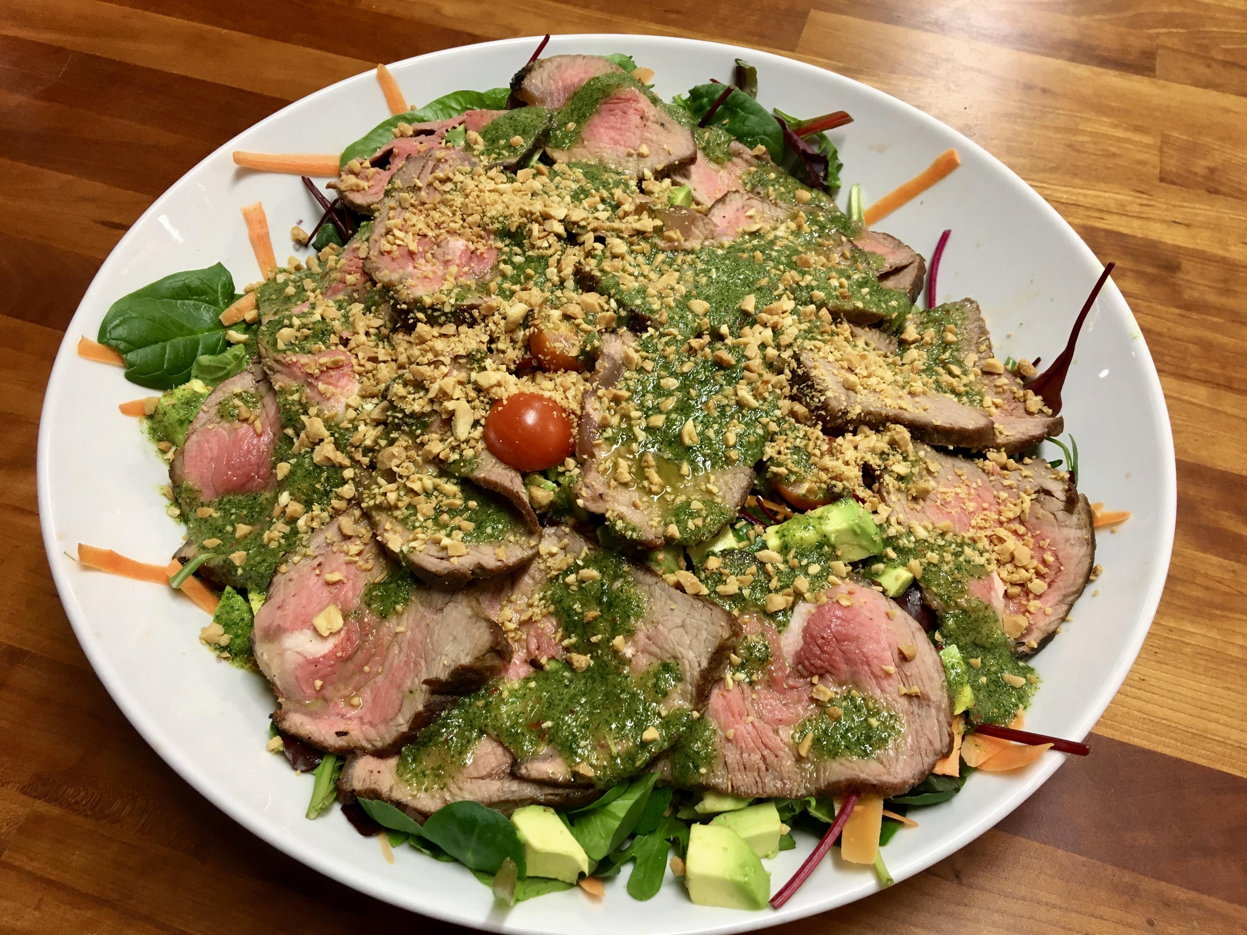 Thai Cuisine With Kittikanya – Beef Salad