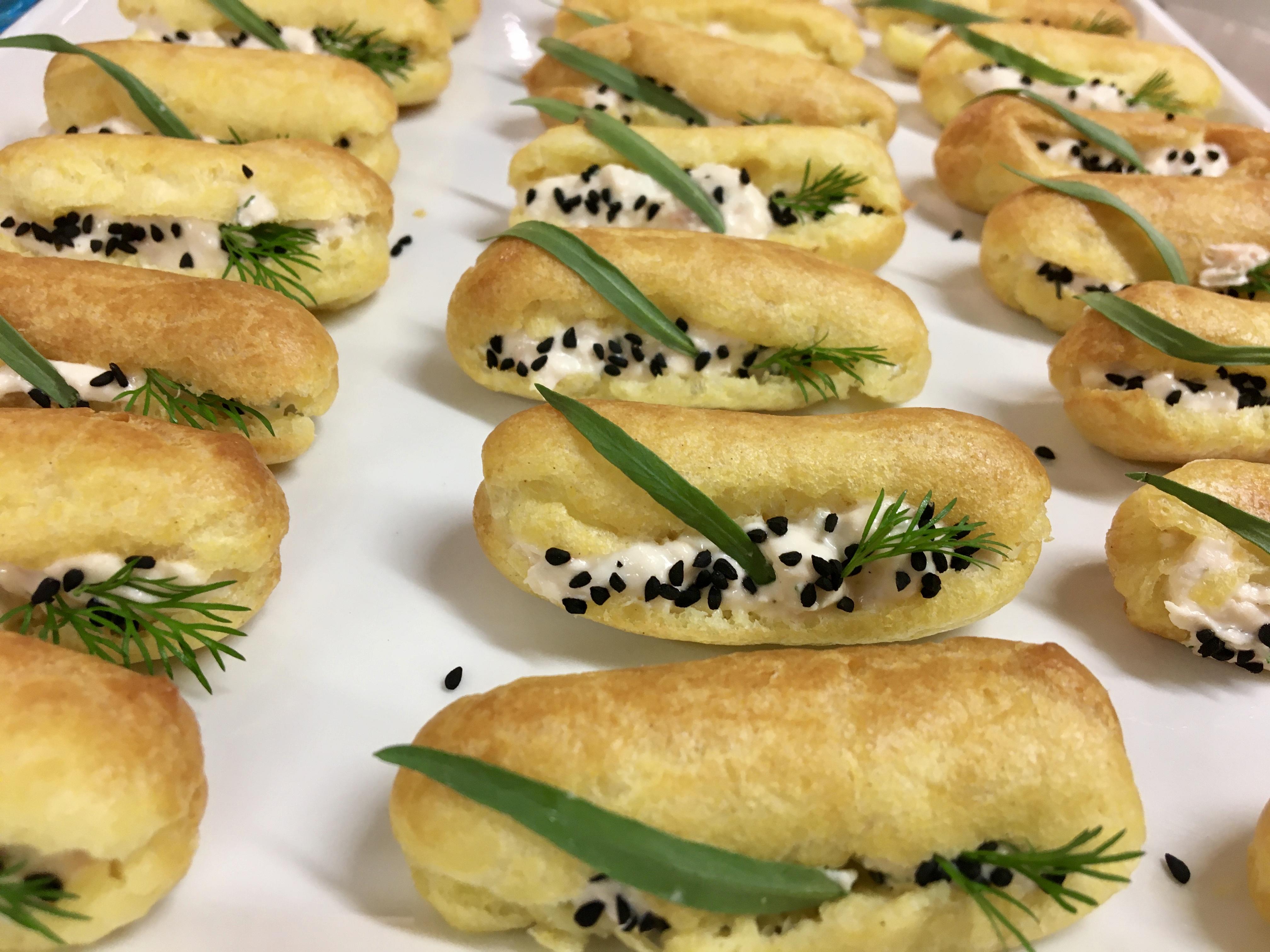 Finger Food With Jolanta – Salmon Cream Filling