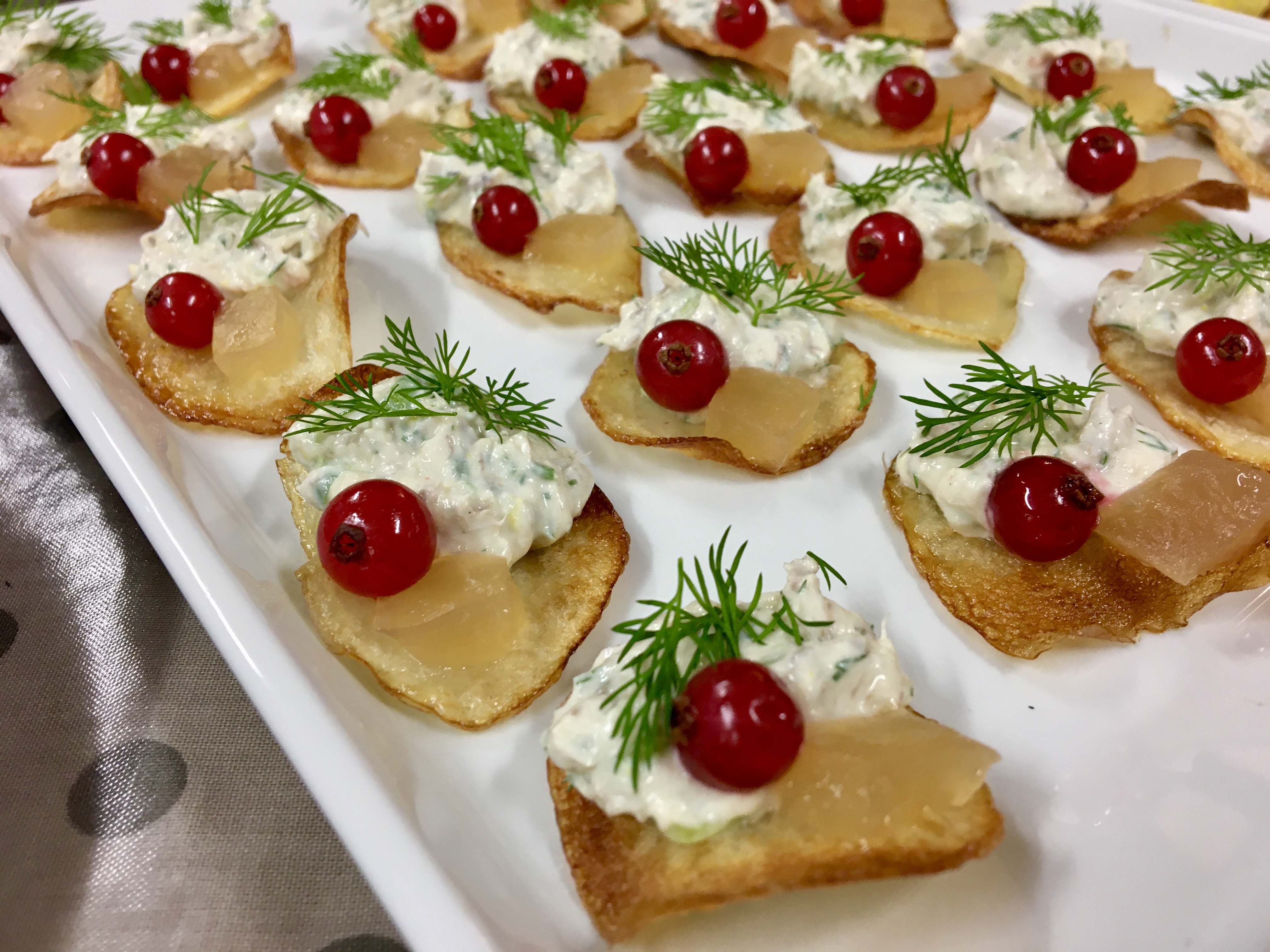 Finger Food With Jolanta – Smoked Mackerel Pâté With Dill And Apple Jelly