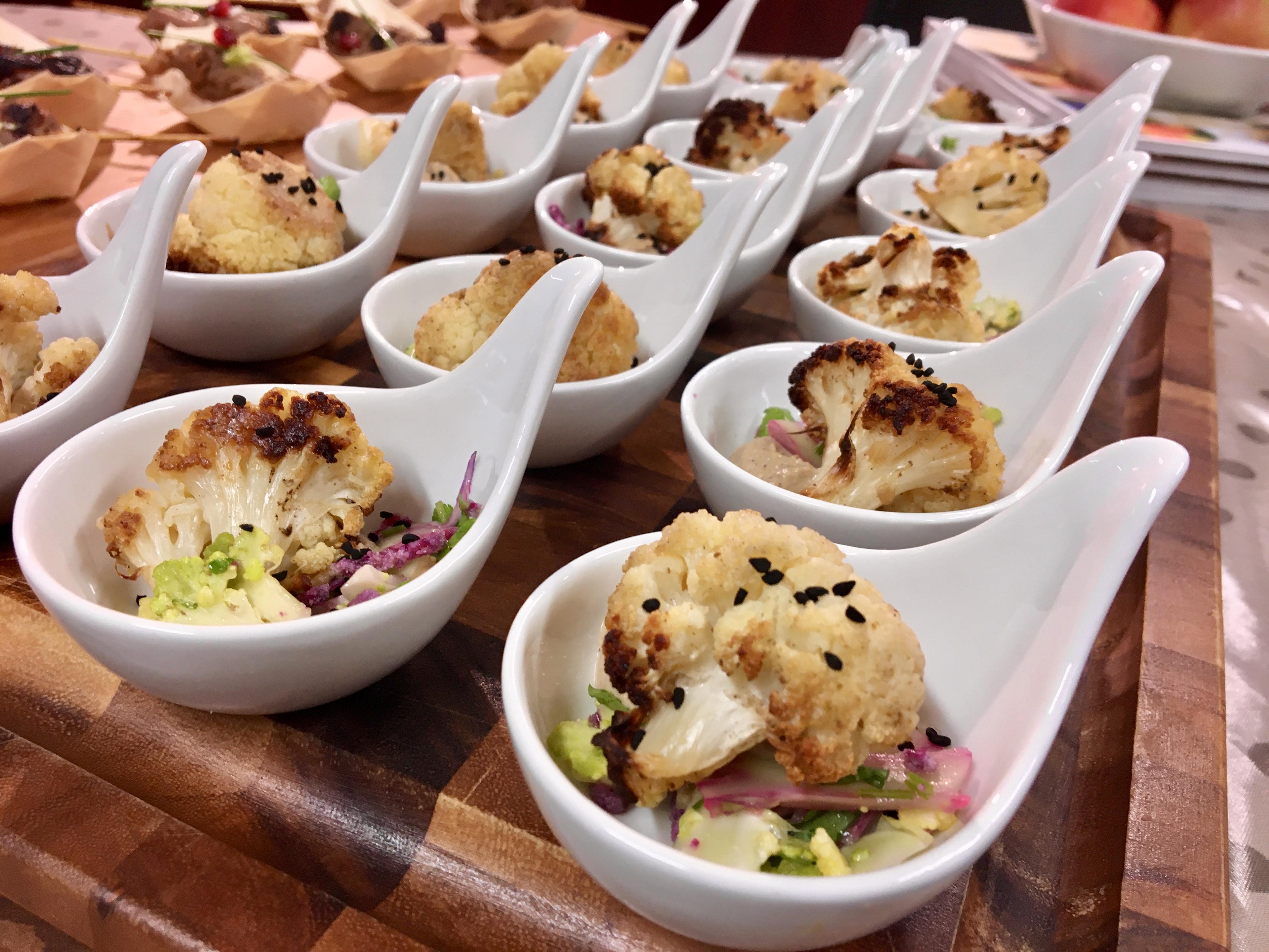 Finger Food With Jolanta – Roasted Cauliflower With Tahini Sauce