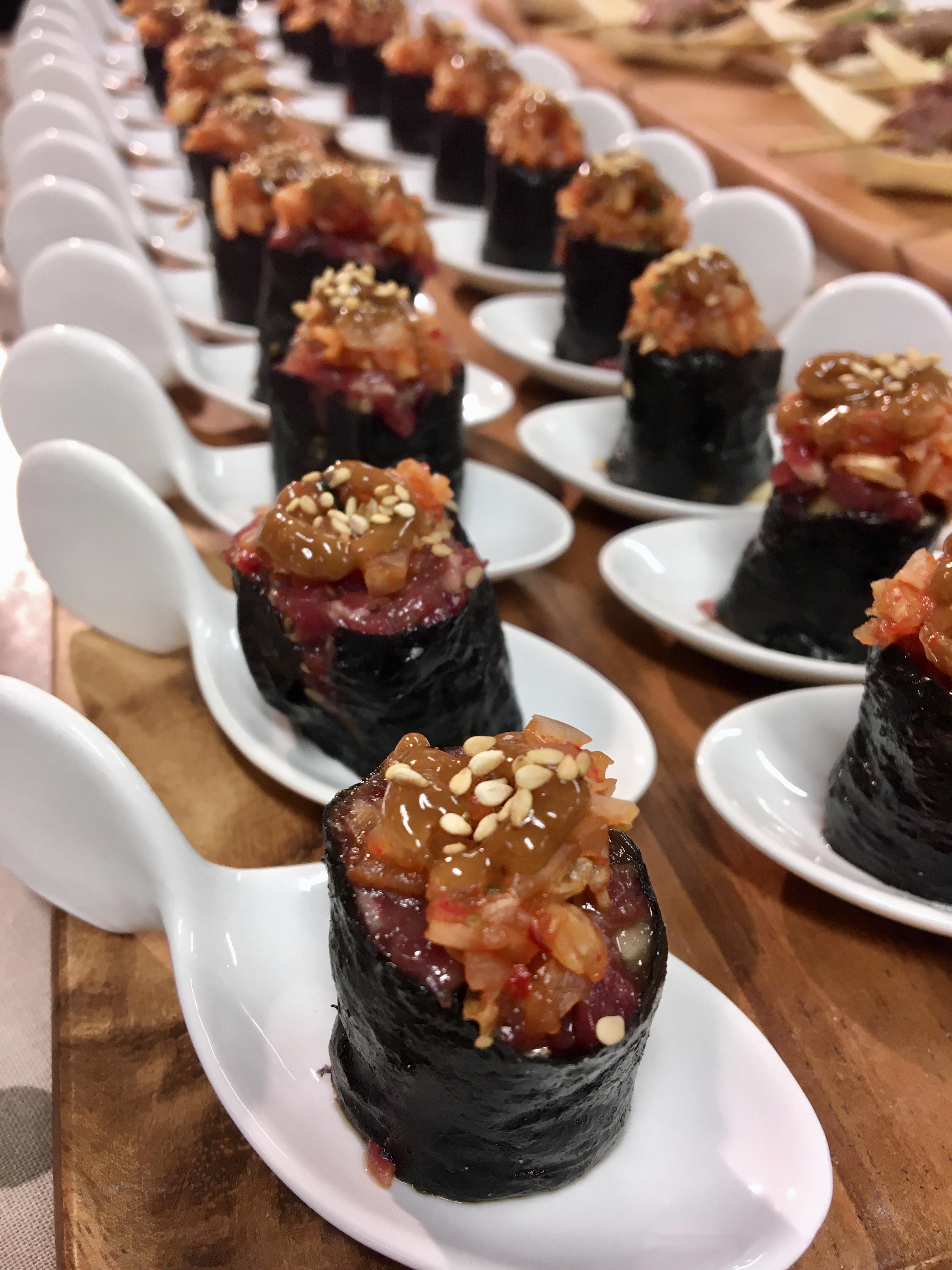 Finger Food With Jolanta – Korean-style Beef Tartare With Kimchi And Miso Mayo