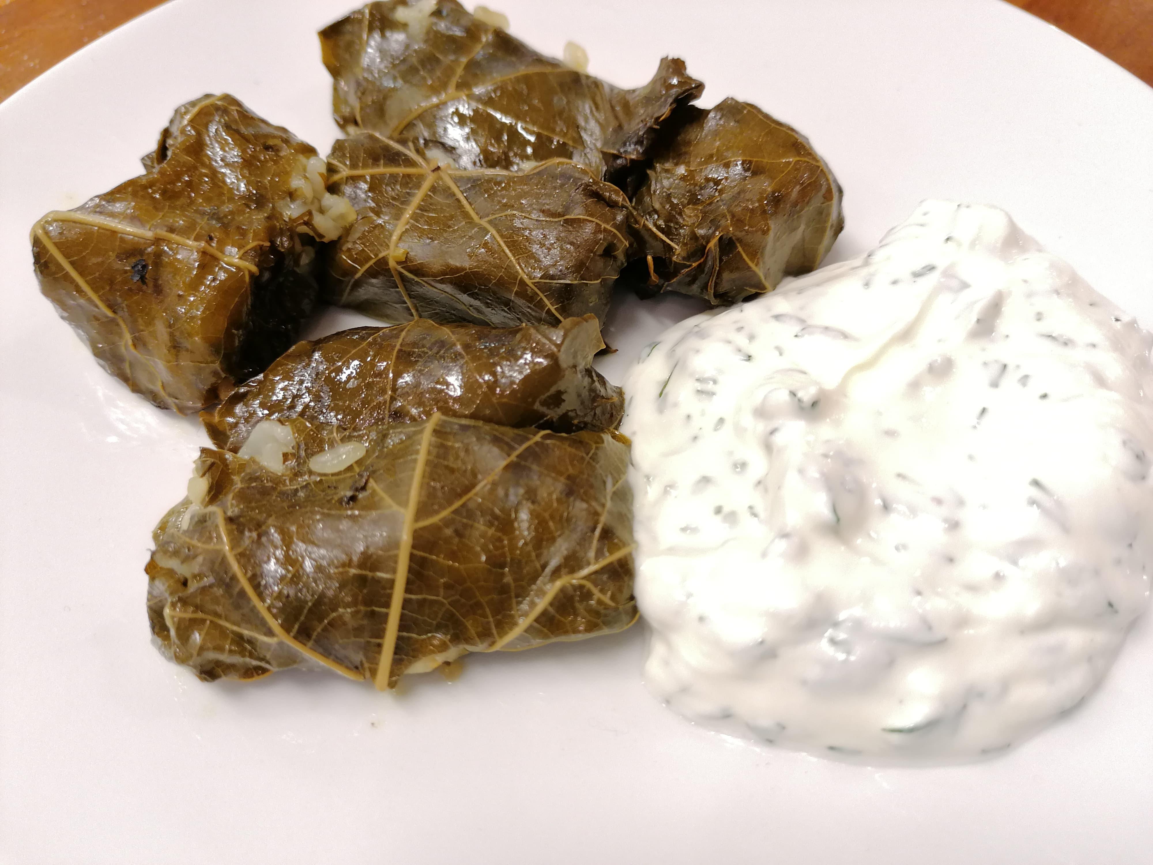 Greek Cuisine With Alexandra – Dolmadakia